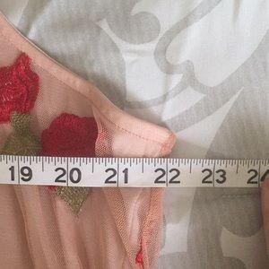 LC Lauren Conrad Tops - 🔴3 for $15 Floral Peter Pan Collar Blouse